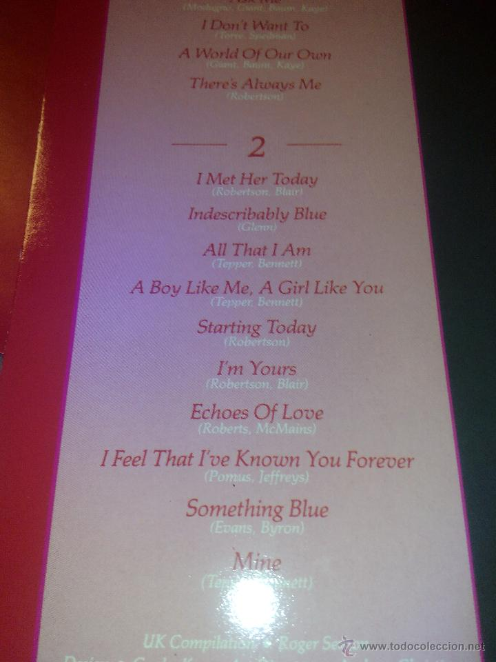 Discos de vinilo: Elvis. ROMANTIC ELVIS -20 LOVE SONGS.LP RCA 1982.Rareza - Foto 6 - 199448096