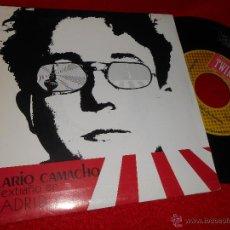 Discos de vinilo: HILARIO CAMACHO UN EXTRAÑO EN MADRID/GRAN CIUDAD 7 SINGLE 1987 TWINS EX. Lote 47826513