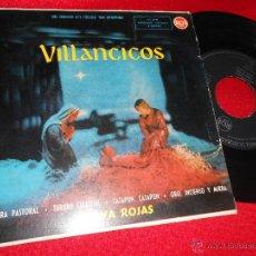 Discos de vinilo: OLIVA ROJAS VILLANCICOS.ZAMBRA PASTORAL/TURURU CELESTIAL/CATAPUN CATAPUN/ORO INCIENSO MIRRA EP 1959. Lote 47826525