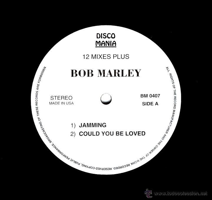 12 INCH - BOB MARLEY - 4 REGGAE HIT TRACKS E.P. - USA - NUEVO, OYELO (Música - Discos de Vinilo - EPs - Reggae - Ska)