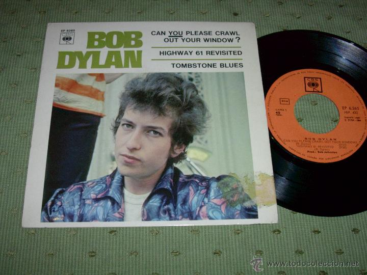 Bob Dylan Can You Please Crawl Out Your Window Comprar Discos Ep