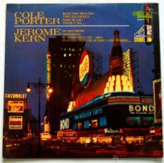 Discos de vinilo: PEDIDO MINIMO 6€ COLE PORTER. JEROME KERN. BEGIN THE BEGUINE. OL'MAN RIVER. EKIPO 1969. Lote 47834403