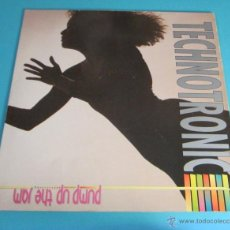 Discos de vinilo: TECHNOTRONIC. PUMP UP THE JAM. Lote 147189466