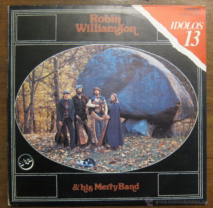 ROBIN WILLIAMSON & HIS MERRY BAND - 1980 (Música - Discos - LP Vinilo - Country y Folk)