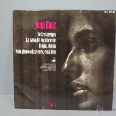 Discos de vinilo: EP. REGRESAREMOS. + 3. JOAN BAEZ. Lote 47838927