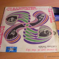 Discos de vinilo: CREEDENCE CLEARWATER REVIVAL ( IT CAME OUT OF THE SKY + 1) SINGLE ESPAÑA 1970 (EP11). Lote 47839087