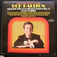 Discos de vinilo: BOB RALSTON.LP.RANWOOD RECORDS.1972.MADE IN U.S.A.. Lote 47840794
