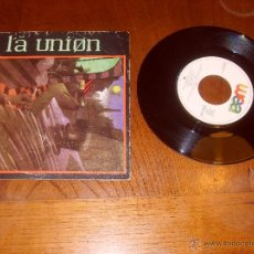 Discos de vinilo: LA UNION SINGLE HOMBRE LOBO EN PARIS MADE IN SPAIN 1984. Lote 47841553