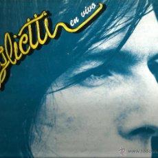 Discos de vinilo: LP DANIEL VIGLIETTI EN VIVO . Lote 47841704