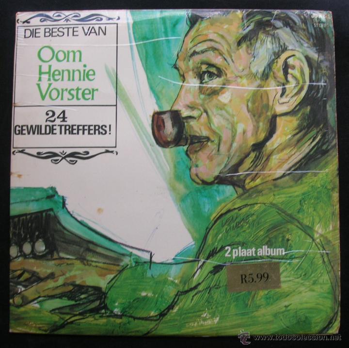DIE BESTE VAN.OOM HENNIE VORSTER.2 LPS.JUWEEL.1971.EDITADO EN SUDAFRICA. (Música - Discos - LP Vinilo - Étnicas y Músicas del Mundo)