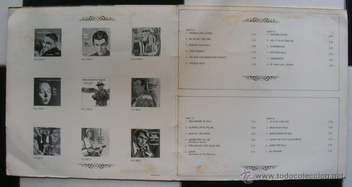 Discos de vinilo: Die beste Van.Oom Hennie Vorster.2 LPs.JUWEEL.1971.Editado en Sudafrica. - Foto 2 - 47848211