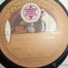 Discos de vinilo: FLAMENCO, NIÑO DE LAS MARIANAS DISCO DE PIZARRA. Lote 47849481