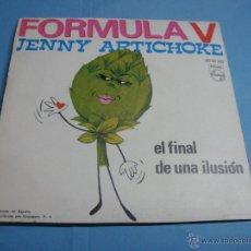 Discos de vinilo: VINILO. EP. MUY BUEN ESTADO. FORMULA V - JENNY ARTICHOKE / EL FINAL DE UNA ILUSION - PHILIPS 1970. Lote 47850390