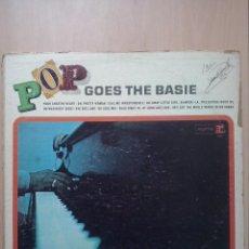 Discos de vinilo: COUNT BASIE - POP GOES BASIE - LP REPRISE USA MONO.. Lote 47850518