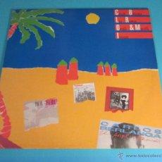 Discos de vinilo: LP PROMOCIONAL. CARLOS BERLANGA. LOS ROMEOS. ILEGALES. PACO ORTEGA E ISABEL MONTERO. Lote 47851561