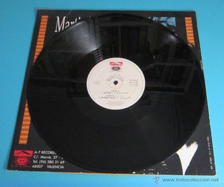 Discos de vinilo: MARTÍN J. CARLOS. ACTION - Foto 3 - 47851661