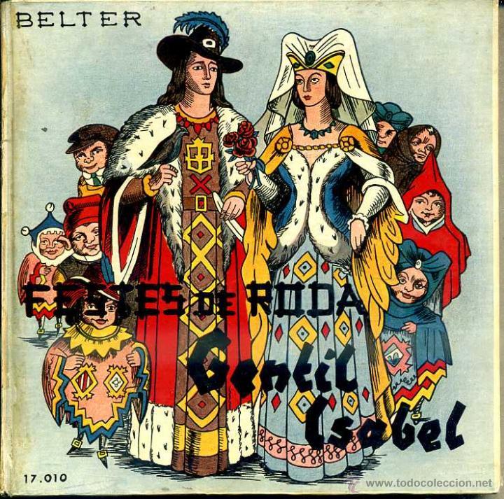 COBLA BARCELONA : FESTES DE RODA / GENTIL ISABEL - LIBRODISCO SARDANAS 33 RPM (Música - Discos de Vinilo - EPs - Clásica, Ópera, Zarzuela y Marchas)