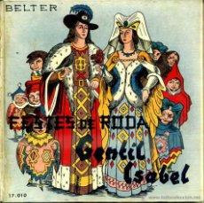 Discos de vinilo: COBLA BARCELONA : FESTES DE RODA / GENTIL ISABEL - LIBRODISCO SARDANAS 33 RPM. Lote 47853472