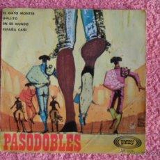 Discos de vinilo: PASODOBLES 1967 SONOPLAY 10050 JOSÉ AGUIRA Y ORQUESTA EL GATO MONTES DISCO VINILO. Lote 47853956