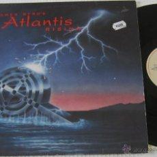 Discos de vinilo: JAMES BYRD'S ATLANTIS RISING - JAMES BYRD ATLANTIDA - LP - ROADRUNNER 1991 HOLLAND. Lote 47854071