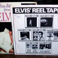 Discos de vinilo: ELVIS PRESLEY - LOVE LETTERS FROM ELVIS - (LSP-4530) RCA VICTOR / USA, 1971 /. Lote 47836769