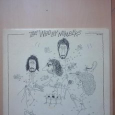 Discos de vinilo: THE WHO BY NUMBERS - LP MCA RECORDS 1975 USA. Lote 47856485