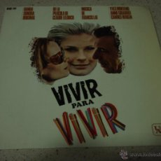 Discos de vinilo: ''VIVIR PARA VIVIR'' IVES MONTAND / ANNIE GIRARDOT / CANDICE BERGEN ( VIVIR PARA VIVIR - TEMA DE C. Lote 47857103
