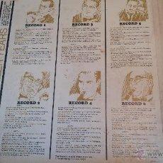 Discos de vinilo: RARISIMO ESTUCHE DE COLECCIÓNISTA, CON 6 LPS DE VINILO BASTANTE BIEN CONSERVADOS. Lote 47857764