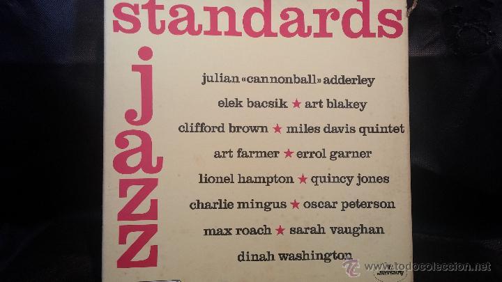 JAZZ STANDARDS, 3 GRANDES DISCOS LPS DE JAZZ PRESENTADOS EN ESTUCHE DE COLECCIONISTA (Música - Discos - LP Vinilo - Jazz, Jazz-Rock, Blues y R&B)