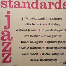Discos de vinilo: JAZZ STANDARDS, 3 GRANDES DISCOS LPS DE JAZZ PRESENTADOS EN ESTUCHE DE COLECCIONISTA. Lote 47859044
