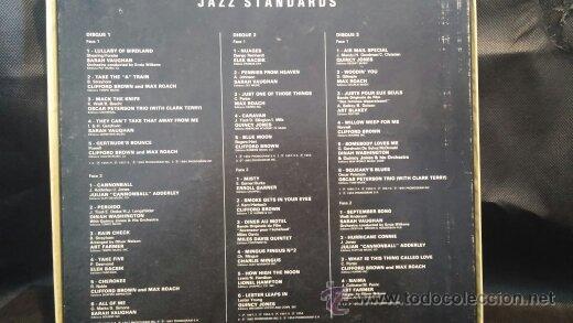 Discos de vinilo: Jazz Standards, 3 grandes discos Lps de Jazz presentados en estuche de coleccionista - Foto 4 - 47859044