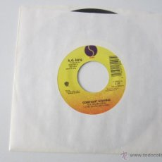Discos de vinilo: K.D. LANG - CONSTANT CRAVING 1992 USA SINGLE. Lote 47861396