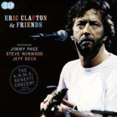 Discos de vinilo: ERIC CLAPTON & FRIENDS - 2XLP A.R.M.S BENEFIT CONCERT FROM LONDON. 180GR. MINT.. Lote 47865623