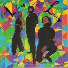 Discos de vinilo: LIONS IN LOVE - HYPNOPARTY (45 RPM) GASA 1991 - PROMO! - EX++/EX++. Lote 47866735