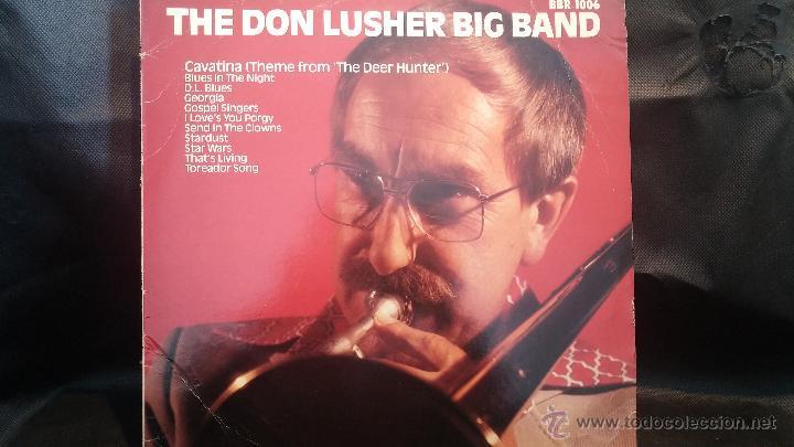 DISCO LPS, THE DON LUSHER, DEDICADO DE PUÑO Y LETRA A ANNA, PIEZA DE COLECCIONISTAS (Música - Discos - LP Vinilo - Jazz, Jazz-Rock, Blues y R&B)