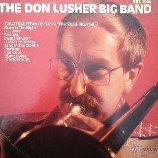Discos de vinilo: DISCO LPS, THE DON LUSHER, DEDICADO DE PUÑO Y LETRA A ANNA, PIEZA DE COLECCIONISTAS. Lote 47867635