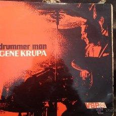 Discos de vinilo: DISCO LPS, DRUMMER MAN, GENE KRUPA. Lote 47868557