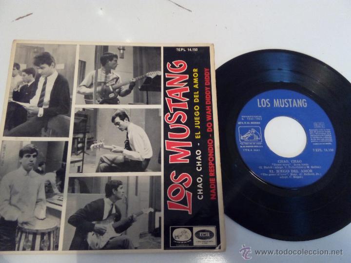 LOS MUSTANG - CHAO, CHAO EP (Música - Discos de Vinilo - EPs - Grupos Españoles 50 y 60)