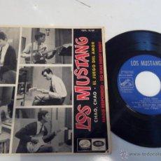 Discos de vinilo: LOS MUSTANG - CHAO, CHAO EP. Lote 47868705