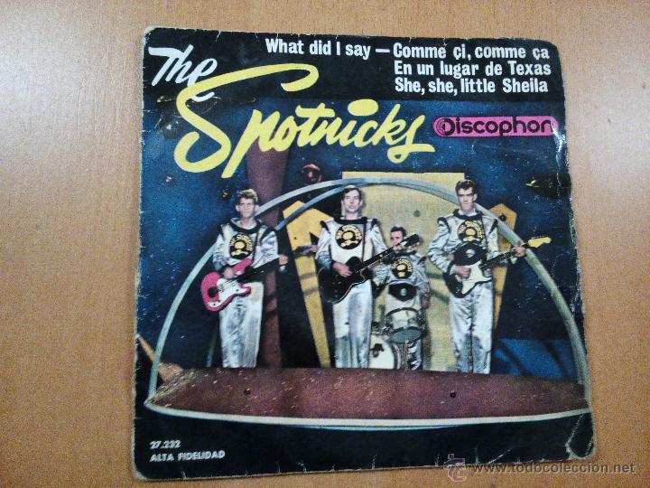 THE SPOTNICKS WHAT DID I SAY + 3 EP SPAIN 1963 (Música - Discos de Vinilo - EPs - Pop - Rock Extranjero de los 50 y 60)