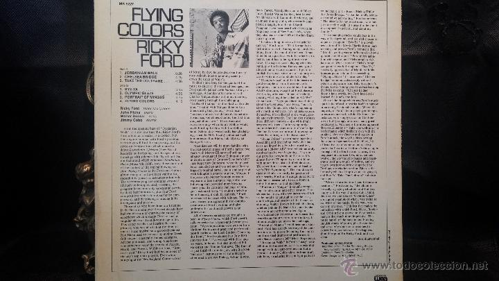 Discos de vinilo: Disco Lps de vinilo, FLYING COLORS, RICKY FORD - Foto 2 - 47868825