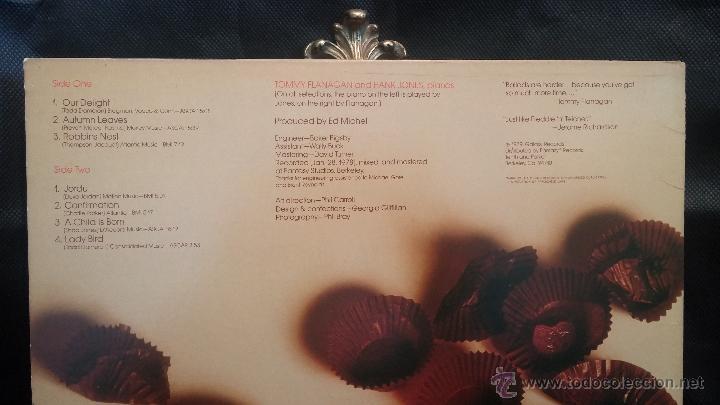 Discos de vinilo: Disco Lps de vinilo, TOMMY FLANAGAN AND HANK JONES - Foto 2 - 47868956