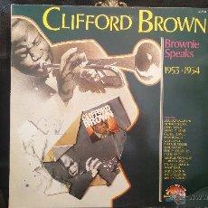 Discos de vinilo: DISCO LPS DE VINILO, CLIFFORD BROWN. Lote 47869284