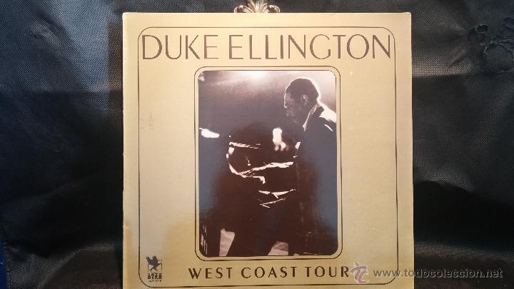 DISCO LPS DE VINILO, DUKE ELLINGTON, WEST COAST TOUR (Música - Discos - LP Vinilo - Jazz, Jazz-Rock, Blues y R&B)