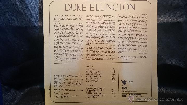 Discos de vinilo: Disco Lps de vinilo, DUKE ELLINGTON, WEST COAST TOUR - Foto 2 - 47869969
