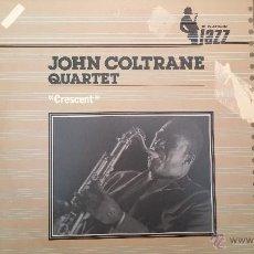 Discos de vinilo: DISCO LPS JAZZ, JOHN COLTRANE, QUARTET, CRESCENT. Lote 47870322