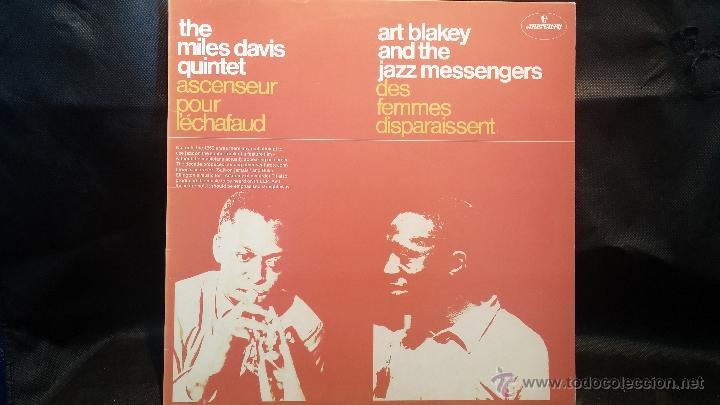 DISCO LPS DE VINILO, THE MILES DAVIS QUINTET, ART BLAKEY AND THE JAZZ (Música - Discos - LP Vinilo - Jazz, Jazz-Rock, Blues y R&B)