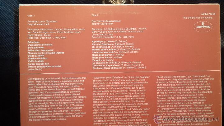 Discos de vinilo: Disco Lps de vinilo, THE MILES DAVIS QUINTET, ART BLAKEY AND THE JAZZ - Foto 2 - 47870451