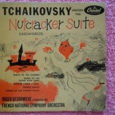 Discos de vinilo: TCHAIKOVSKY 1959 CAPITOL 8202 CASCANUECES OP 71 A ROGER DESORMIÈRE 1840 1893. Lote 47871060