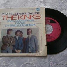 Discos de vinilo: THE KINKS 7´EP CALLEJON SIN SALIDA + 3 (1966) EDICION ORIGINAL ESPAÑA *BUENA CONDICION*. Lote 47873849